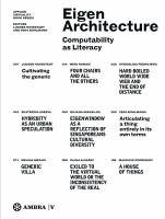 Eigen architecture : computability as literacy