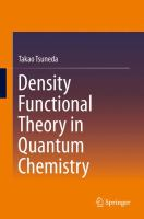 Density functional theory in quantum chemistry [electronic resource]