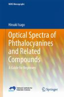 Optical spectra of phthalocyanines and related compounds [electronic resource] : a guide for beginners