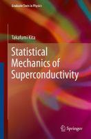 Statistical Mechanics of Superconductivity [electronic resource]