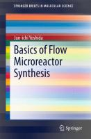 Basics of Flow Microreactor Synthesis [electronic resource]