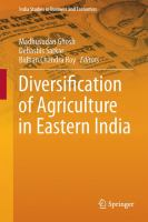 Diversification of Agriculture in Eastern India [electronic resource]