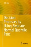 Decision Processes by Using Bivariate Normal Quantile Pairs [electronic resource]