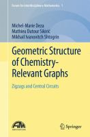 Geometric structure of chemistry-relevant graphs [electronic resource] : zigzags and central circuits