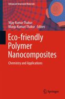 Eco-friendly Polymer Nanocomposites [electronic resource] : Chemistry and Applications