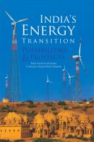 India's energy transition : possibilities and prospects