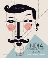 India : contemporary design : fashion, graphics, interiors