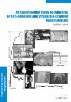 An experimental study on adhesive or anti-adhesive, bio-inspired experimental nanomaterials [electronic resource]