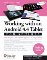 Working with an Android 4.2 tablet for seniors : suitable for tablets from different manufacturers