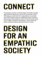 Connect : design for an empathic society
