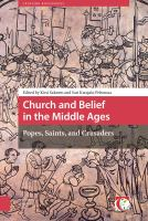 Church and belief in the Middle Ages : popes, saints, and crusaders /