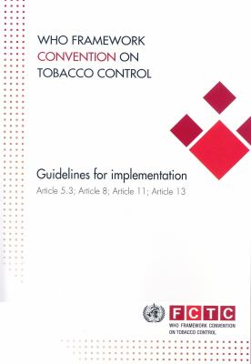 picture of the cover of the e-book WHO Framework Convention on Tobacco Control