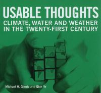 Usable thoughts : climate, water and weather in the twenty-first century