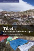 Tibet's relations with the Himalaya /