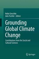 Grounding Global Climate Change [electronic resource] : Contributions from the Social and Cultural Sciences