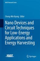 Nano Devices and Circuit Techniques for Low-Energy Applications and Energy Harvesting [electronic resource]