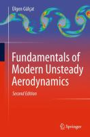 Fundamentals of Modern Unsteady Aerodynamics [electronic resource]