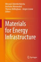 Materials for Energy Infrastructure [electronic resource]