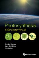 Photosynthesis : solar energy for life /