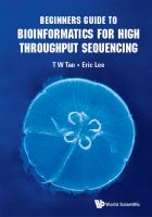 Beginners guide to bioinformatics for high throughput sequencing /