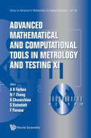 Advanced mathematical and computational tools in metrology and testing.