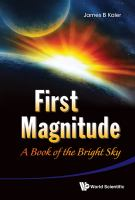 First magnitude : a book of the bright sky