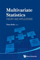 Multivariate statistics : theory and applications : proceedings of IX Tartu Conference on Multivariate Statistics and XX International Workshop on Matrices and Statistics, Tartu,             Estonia, 26 June-1 July 2011