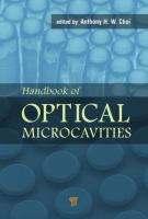 Handbook of optical microcavities [electronic resource]