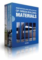 Innovation and application of green building materials.