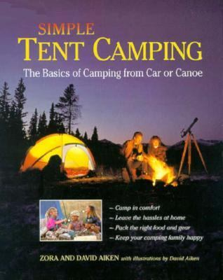 Cover of book, Simple Tent Camping