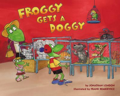 Froggy at Pet Shop