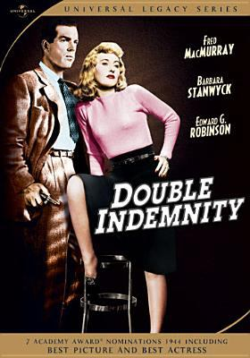 Cover image for Double indemnity [videorecording (DVD)]