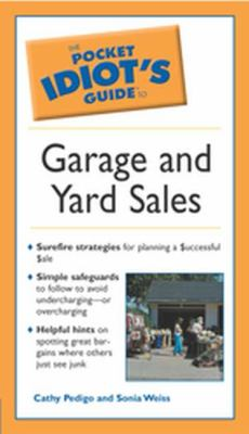 Pocket idiot's guide to garage and yard sales