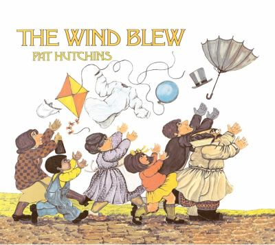 Cover image for The wind blew