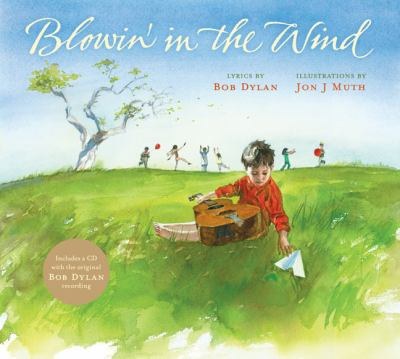 Cover image for Blowin' in the wind