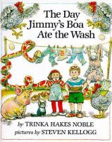 Cover image for The day Jimmy's boa ate the wash