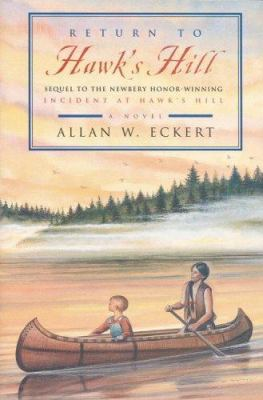 Cover image for Return to Hawk's Hill : a novel