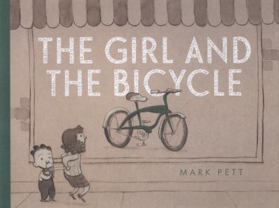 Cover image for The girl and the bicycle