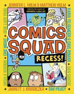 comics squad: recess