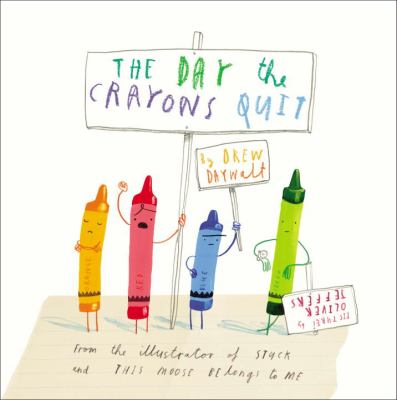 day the crayons quit bookjacket