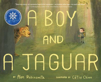 a boy and a jaguar bookjacket