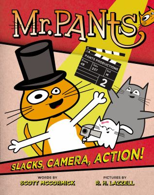 mr pants: slacks, camera, action