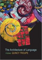 Cover Art: The Architecture of Language, Troupe