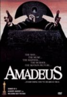 Cover image for Amadeus director's cut