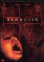 Cover image for Exorcist: the beginning