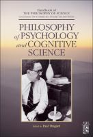 Philosophy of psychology and cognitive science için kapak resmi