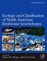 Ecology and classification of North American freshwater invertebrates için kapak resmi