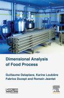 Dimensional analysis of food processes için kapak resmi