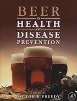 Beer in health and disease prevention için kapak resmi