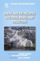 Snow and ice-related hazards, risks, and disasters için kapak resmi